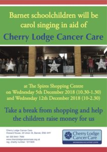 Schoolchildren Singing Carols for Cherry Lodge @ The Spires Shopping Centre | England | United Kingdom