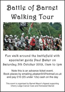 Battle of Barnet walking tour @ Opposite the Monken Holt pub | England | United Kingdom