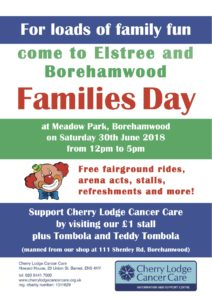 Families Fun Day at Borehamwood @ Meadow Park | England | United Kingdom