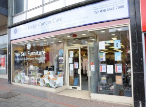 Our shop in Borehamwood
