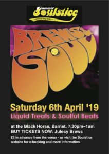 Brews and Soul April 2019 @ The Black Horse | England | United Kingdom