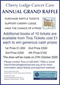 Cherry Lodge's Annual  Grand Raffle 2020