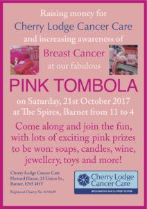 Pink Tombola at The Spires @ The Spires Shopping Centre | England | United Kingdom