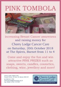 Pink Barrow Tombola 2018 @ The Spires Shopping Centre | England | United Kingdom