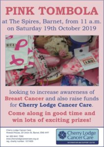 Pink Tombola in October 2019 @ The Spires Shopping Centre | England | United Kingdom