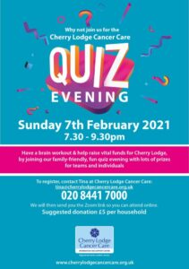 Cherry Lodge online Quiz Evening @ online