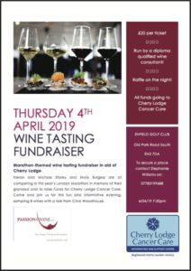 Wine Tasting Fundraiser @ Enfield Golf Club | England | United Kingdom