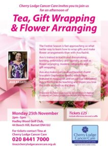Tea, Gift Wrapping & Flower Arranging @ Hadley Wood Golf Club | England | United Kingdom