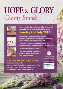 Hope and Glory Charity Brunch @ Private address | Potters Bar | England | United Kingdom