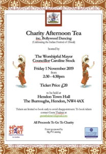 Diwali Charity Afternoon Tea @ Hendon Town Hall | England | United Kingdom