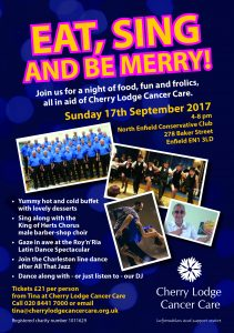 Eat, Sing and be Merry! @ North Enfield Conservative Club | England | United Kingdom