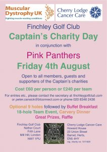 Captain's Charity Day at Finchley Golf Club @ Finchley Golf Club | England | United Kingdom