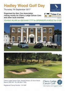 Alan Cox Associates Charity Golf Day 2017 @ Hadley Wood Golf Club | Barnet | United Kingdom