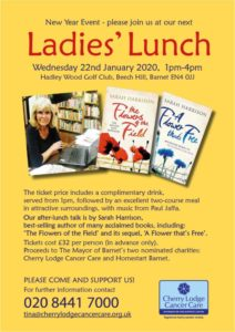 Ladies' Lunch with Sarah Harrison @ Hadley Wood Golf Club | England | United Kingdom
