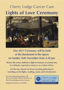 Lights of Love Ceremony 2017 @ The Spires Shopping Centre
