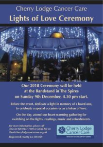 Lights of Love Ceremony 2018 @ The Spires Shopping Centre | England | United Kingdom