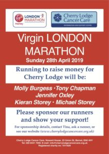 London Marathon 2019 @ London Marathon route