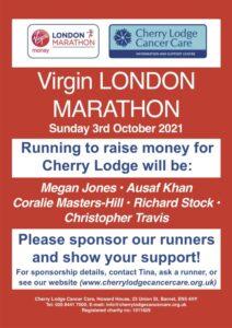 London Marathon October 2021