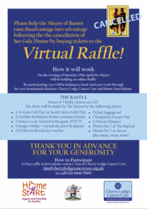 The Mayor's Virtual Raffle @ online