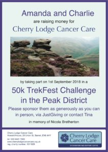 Please sponsor 50k Peak District Challenge @ 50k TrekFest route | Brushfield | England | United Kingdom