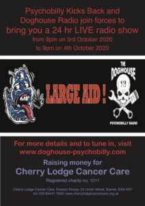 Large Aid from Psychobilly and Doghouse Radio @ live radio