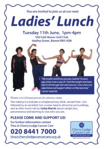 Ladies' Lunch with Cathy Martin @ Old Fold Manor Golf Club | Hadley Green | England | United Kingdom