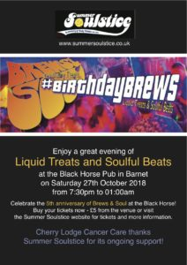 Birthday Brews & Soul @ The Black Horse | England | United Kingdom
