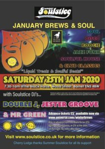 January Brews & Soul 2020 @ The Black Horse | England | United Kingdom