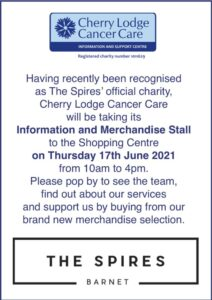 CL Information and Merchandise Stall at The Spires @ The Spires | England | United Kingdom