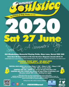 Summer Soulstice - Advance Tickets on sale @ Old Elizabethans' Memorial Fields | England | United Kingdom
