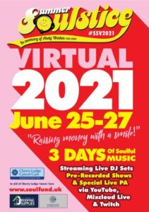 Summer Soulstice Virtual 2021 three-day event @ online