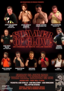 Summer of Glove - please sponsor Paul Shapira @ York Hall | England | United Kingdom