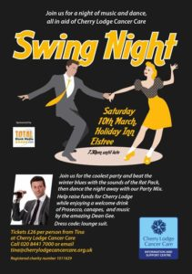 Swing Night in aid of Cherry Lodge @ Holiday Inn Elstree | Barnet | England | United Kingdom