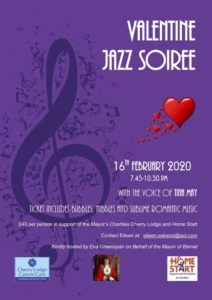 Mayor's Valentine Jazz Soiree @ details supplied on booking
