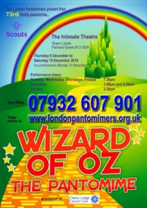 Wizard of Oz: the Pantomime @ The Intimate Theatre | England | United Kingdom
