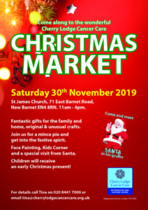 Cherry Lodge Christmas Market 2019 @ St James Church | London | England | United Kingdom