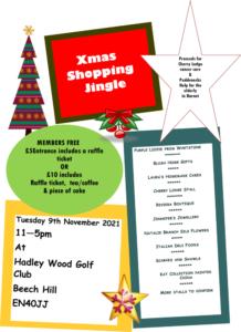 Hadley Wood Golf Club Xmas Shopping Event @ Hadley Wood Golf Club | England | United Kingdom